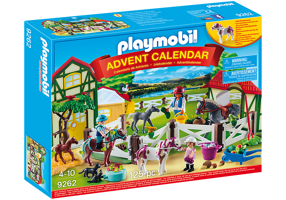 9262 Advent Calendar - Horse Farm detail image 2