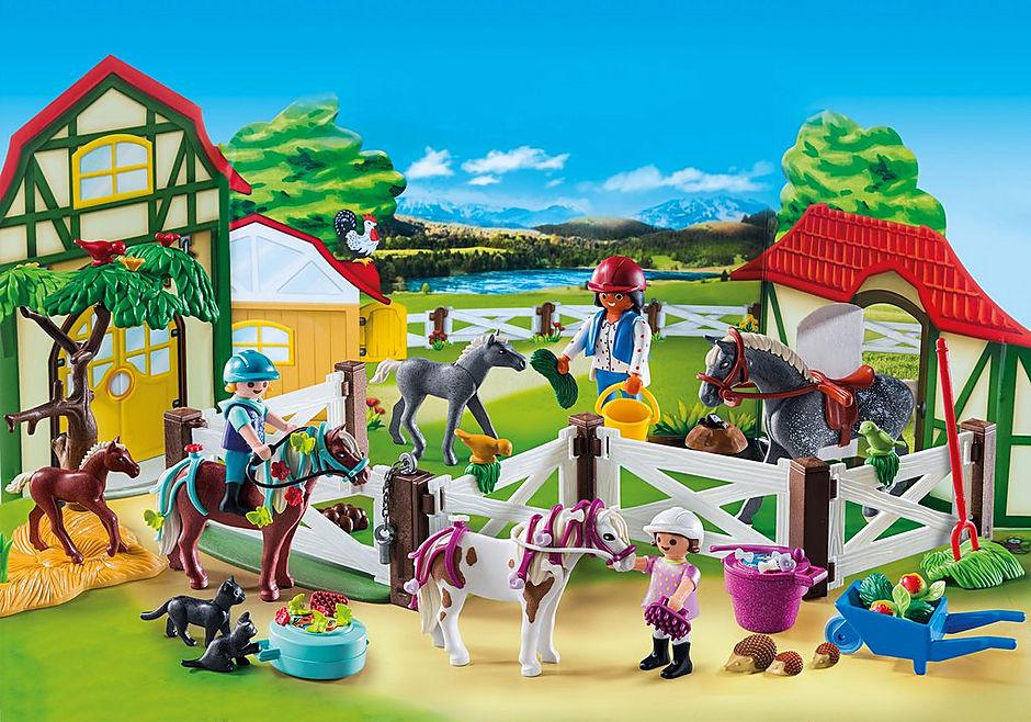 http://media.playmobil.com/i/playmobil/9262_product_extra1/Calendário do Advento 'Quinta de Cavalos'