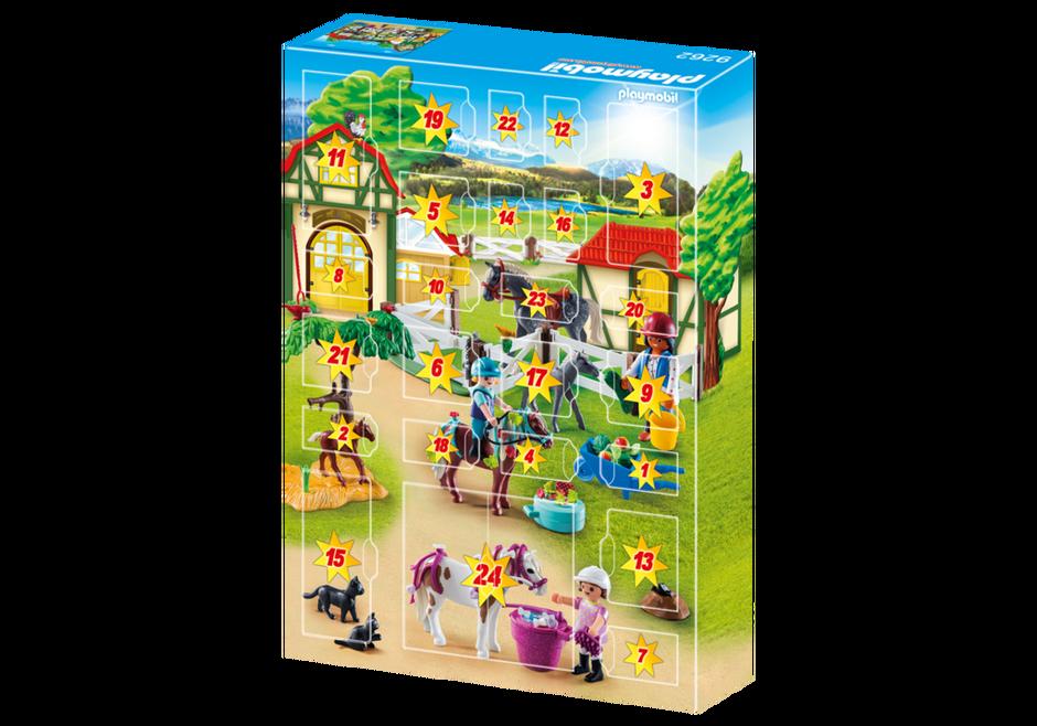Playmobil Weihnachten.Playmobil Playmobil Reiterhof 9262 Adventskalender 2018
