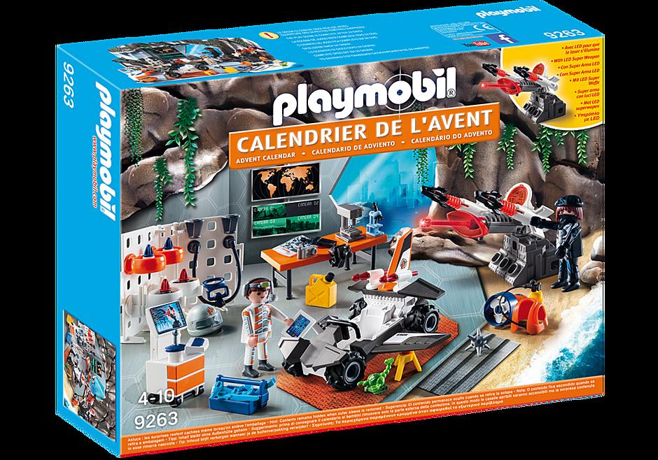 Calendrier De L Avent Voiture.Calendrier De L Avent Top Agents 9263 Playmobil France
