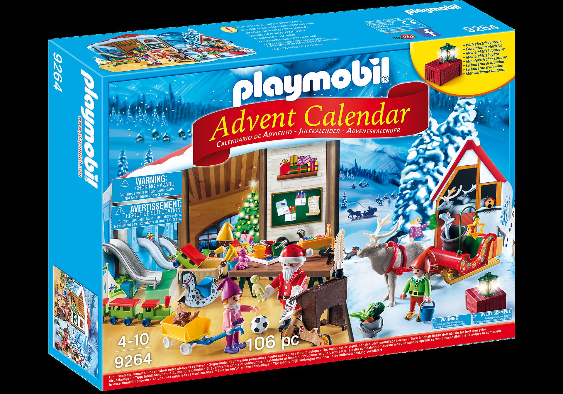 9264 Advent Calendar - Santa's Workshop zoom image2