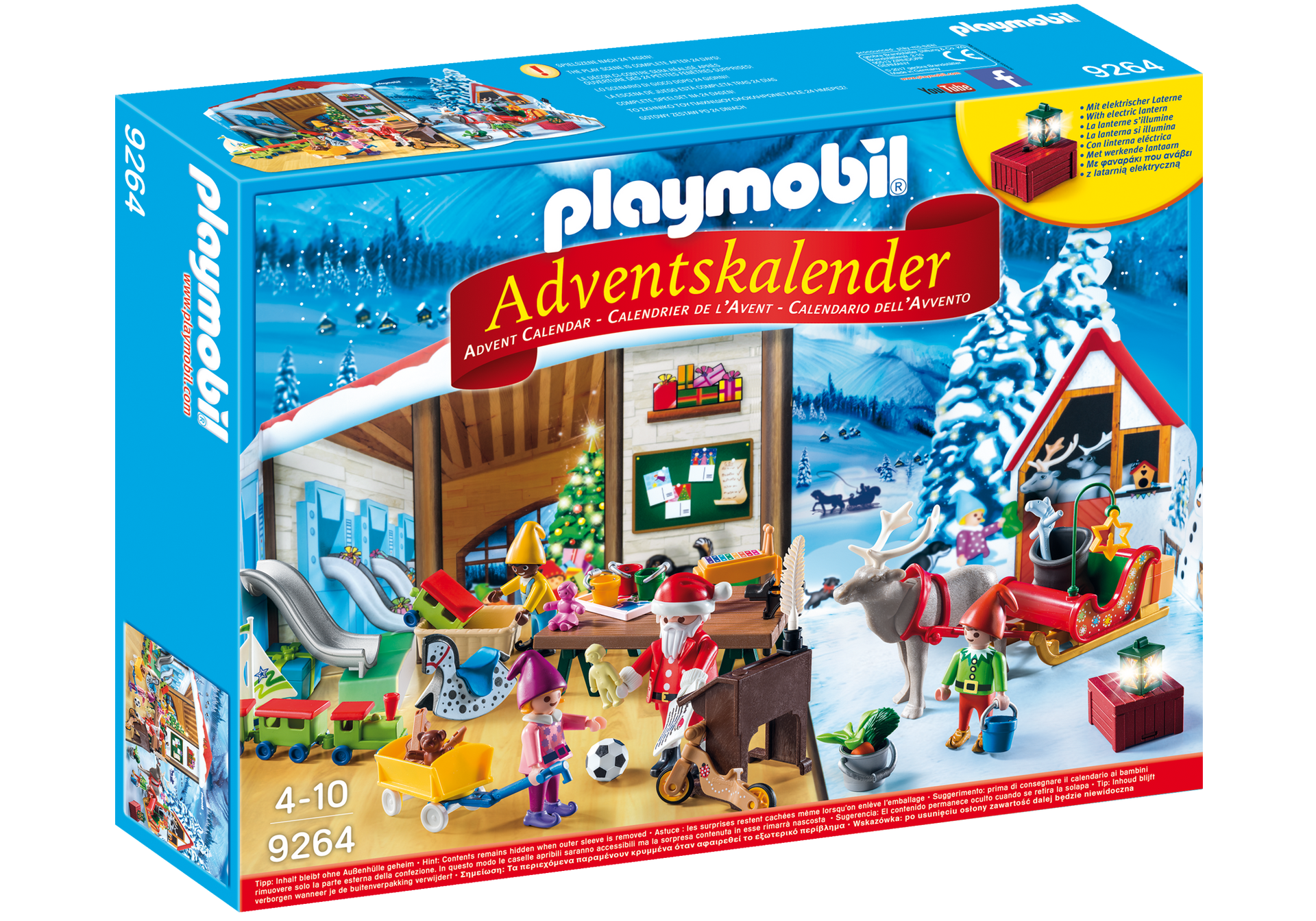 adventskalender wichtelwerkstatt 9264 playmobil deutschland. Black Bedroom Furniture Sets. Home Design Ideas