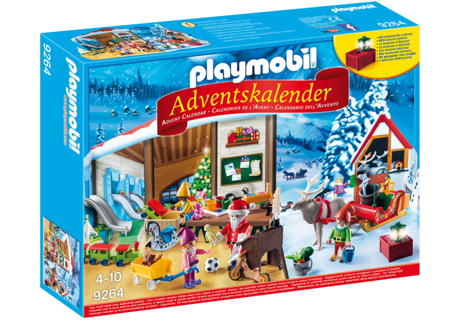 advent calendar santa 39 s workshop 9264 playmobil. Black Bedroom Furniture Sets. Home Design Ideas