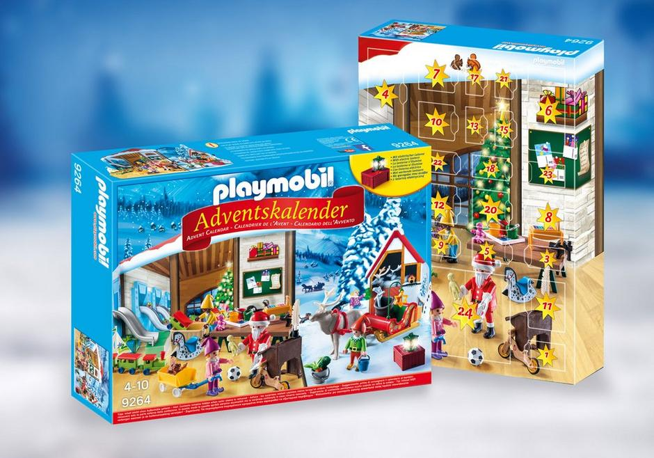 advent calendar santa 39 s workshop 9264 playmobil. Black Bedroom Furniture Sets. Home Design Ideas