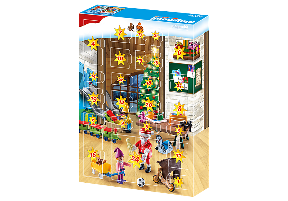 9264 Advent Calendar - Santa's Workshop detail image 4