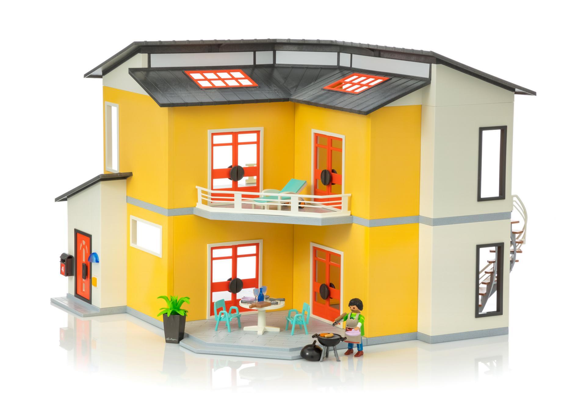 Modernes Wohnhaus - 9266 - PLAYMOBIL® Österreich