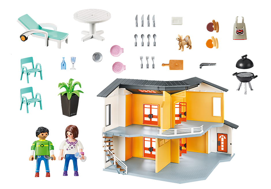 9266 Modernes Wohnhaus detail image 5