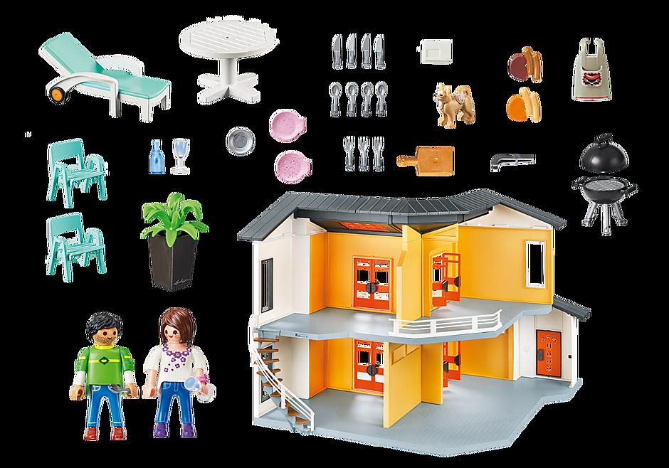 9266 Modernt bostadshus detail image 5