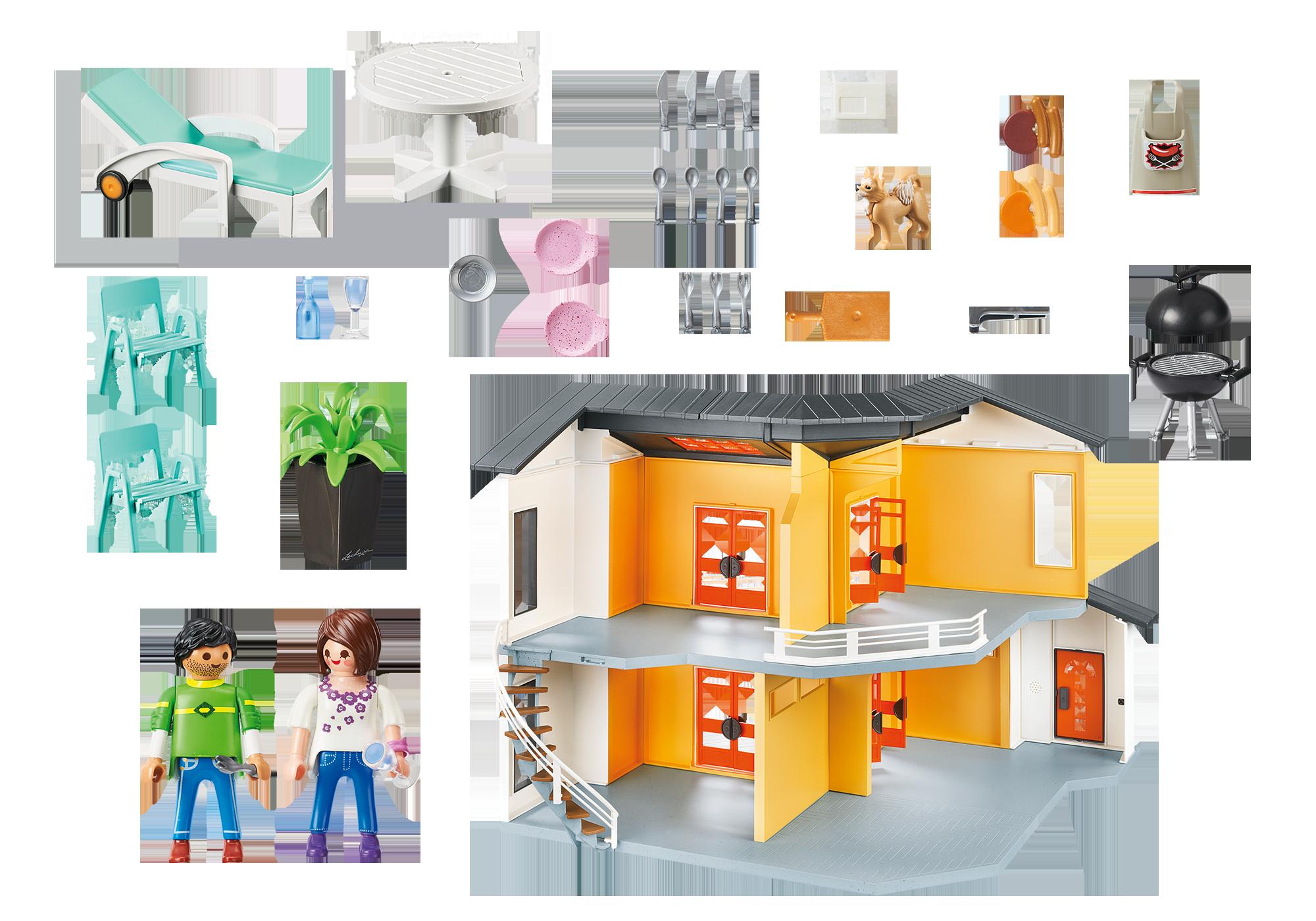 Emejing Playmobil Maison Moderne Cuisine Photos - Seiunkel.us ...