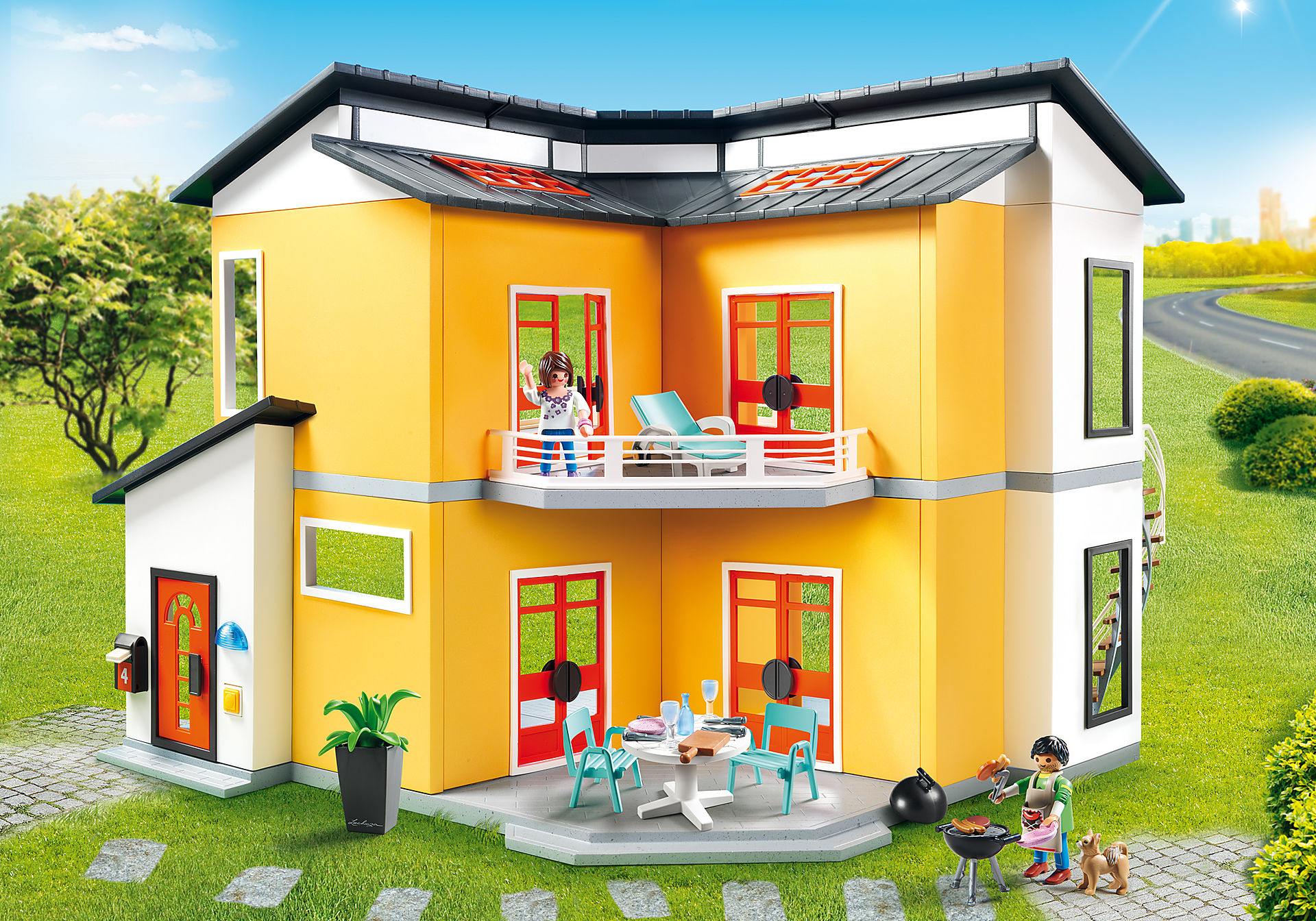http://media.playmobil.com/i/playmobil/9266_product_detail/Modernt bostadshus
