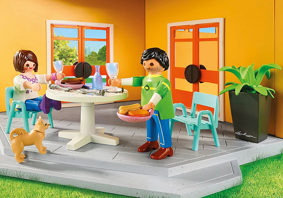 http://media.playmobil.com/i/playmobil/9266_product_extra1/Modern Woonhuis