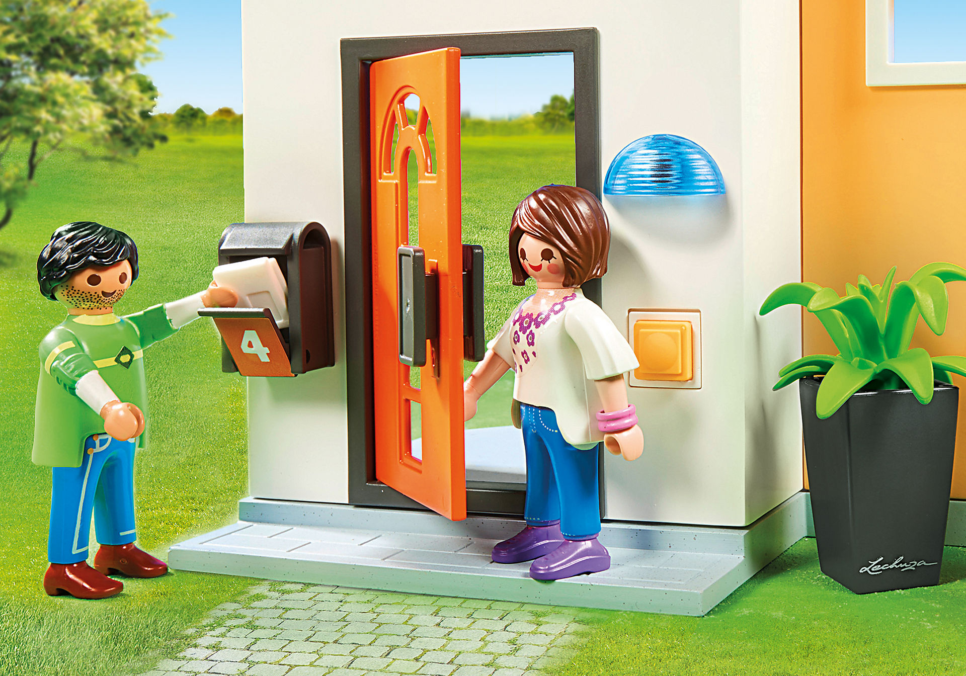 http://media.playmobil.com/i/playmobil/9266_product_extra4/Modernt bostadshus