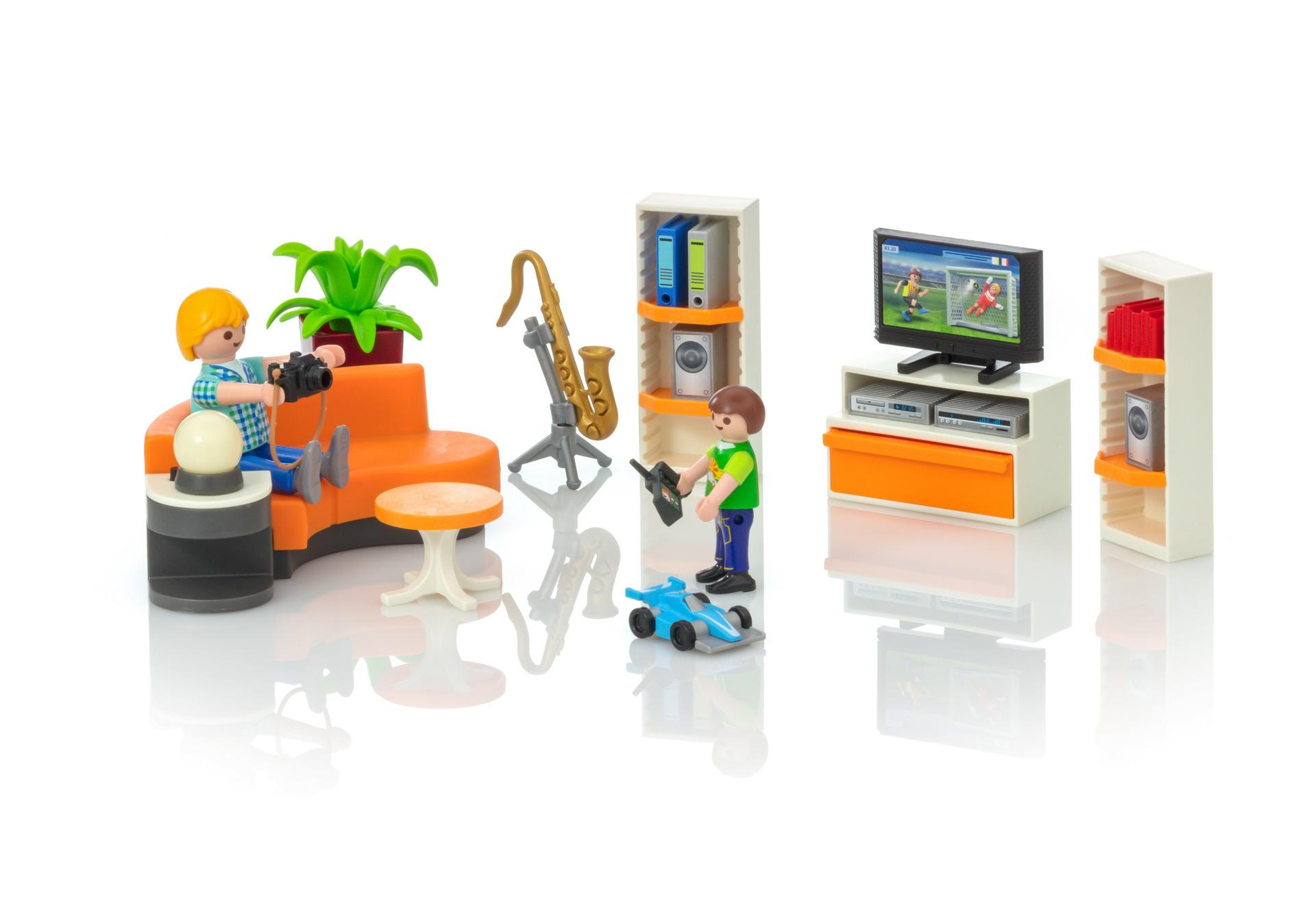 Living Room - 9267 - PLAYMOBIL® USA