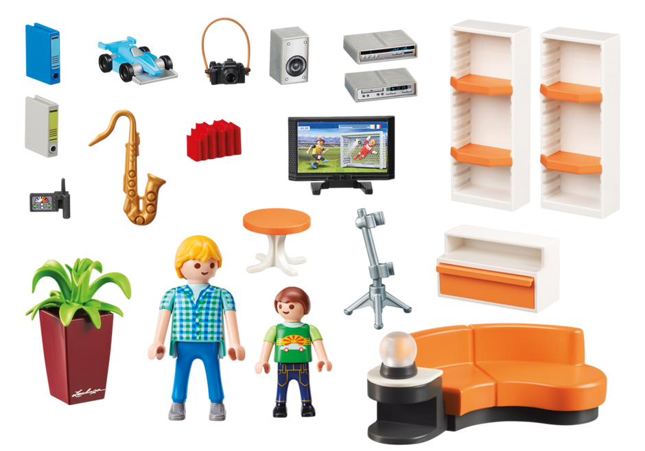 Mediaplaymobil I Playmobil 9267 Product Box Back