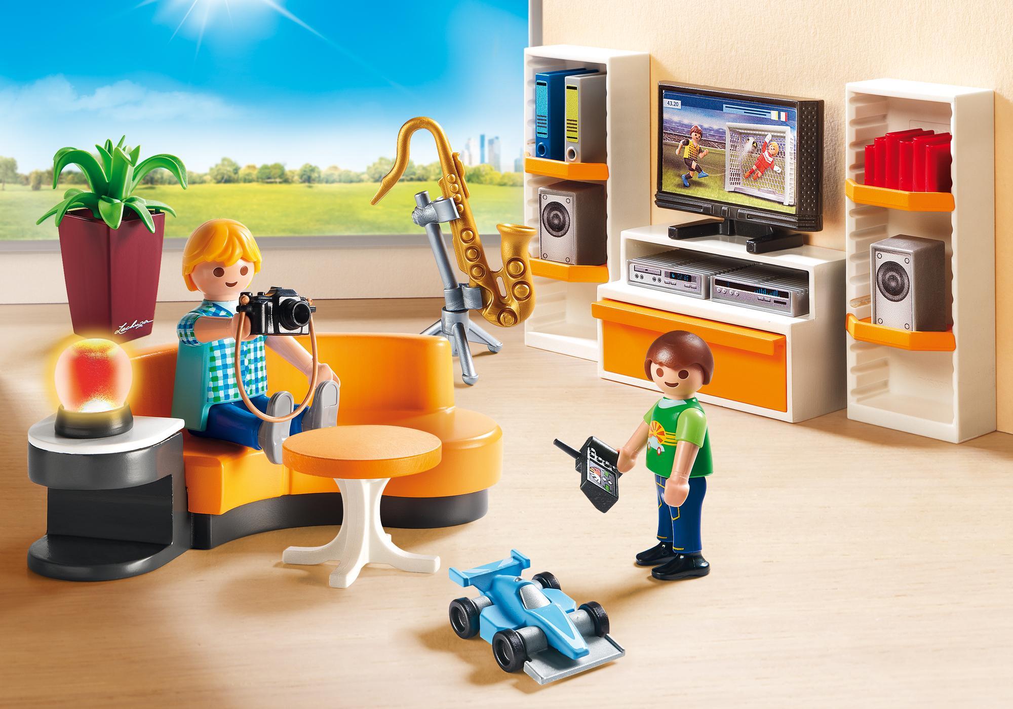 living room - 9267 - playmobil® northern europe - finland, Wohnzimmer dekoo