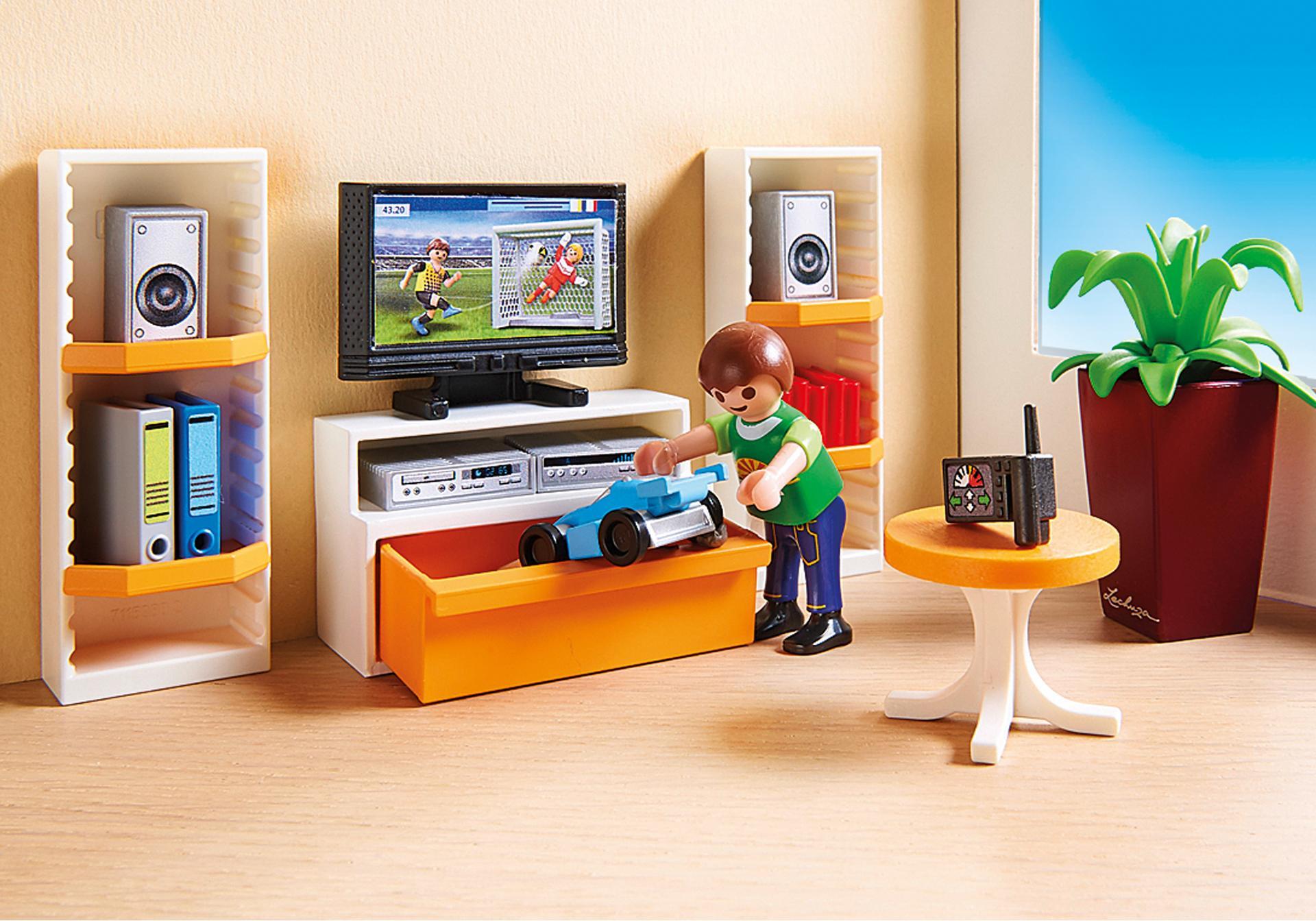 Living room 9267 playmobil for Playmobil living room 4282