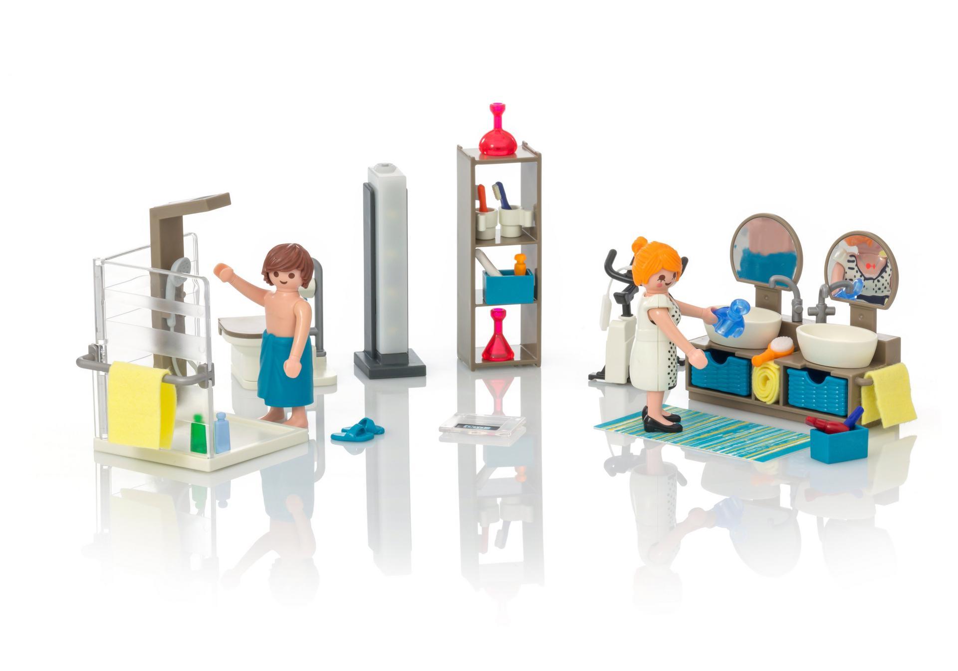 Ausmalbilder Playmobil Wohnzimmer : Badezimmer 9268 Playmobil Deutschland