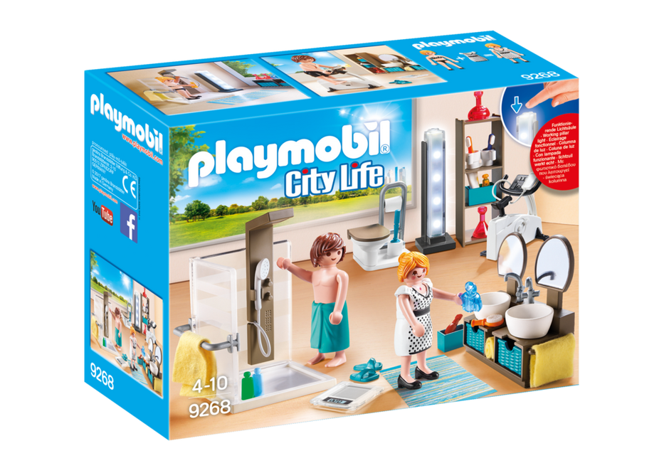 Badezimmer 9268 playmobil deutschland for Playmobil casa de lujo