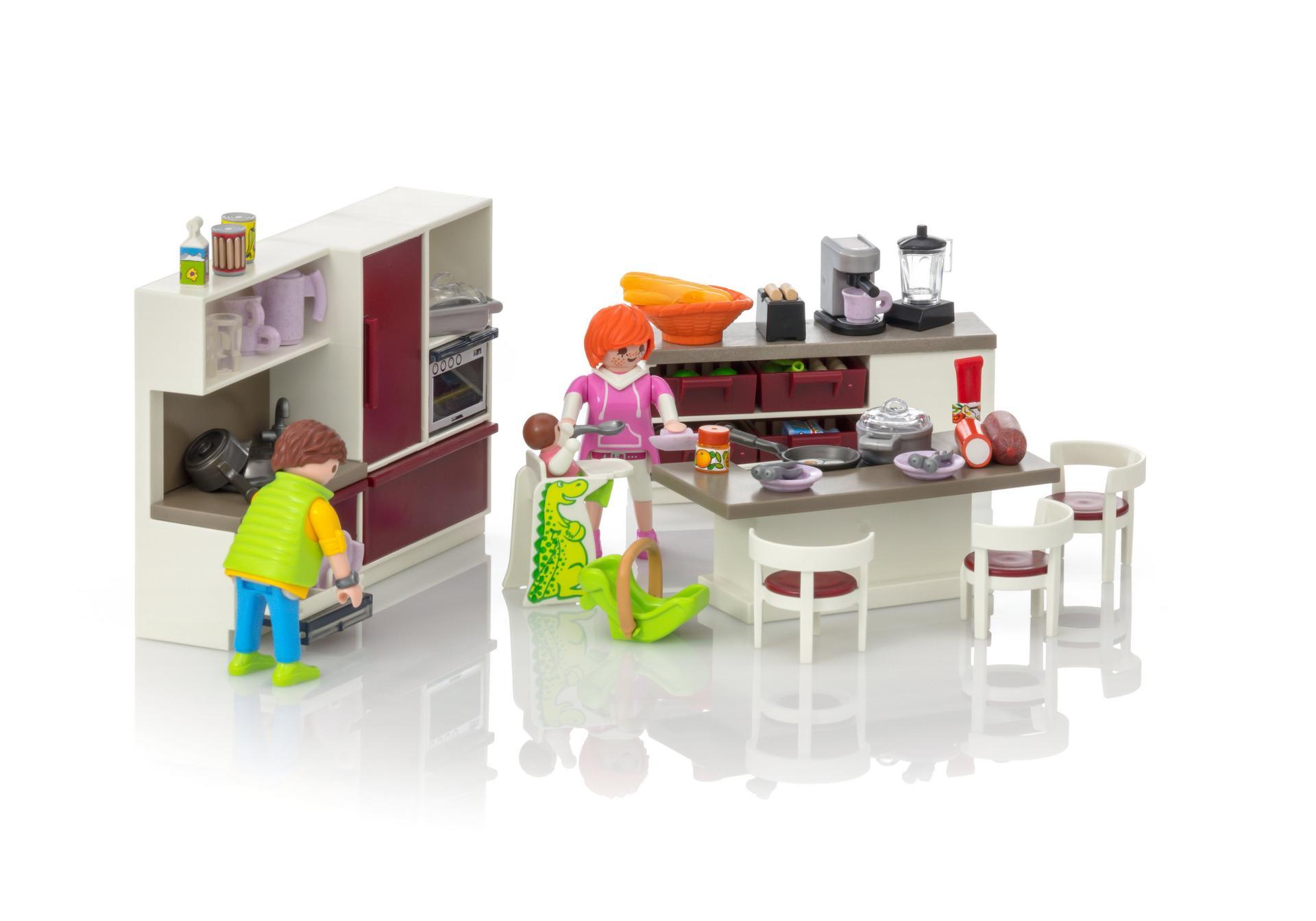 Playmobil Keuken 9269 : Leefkeuken 9269 playmobil® belgië