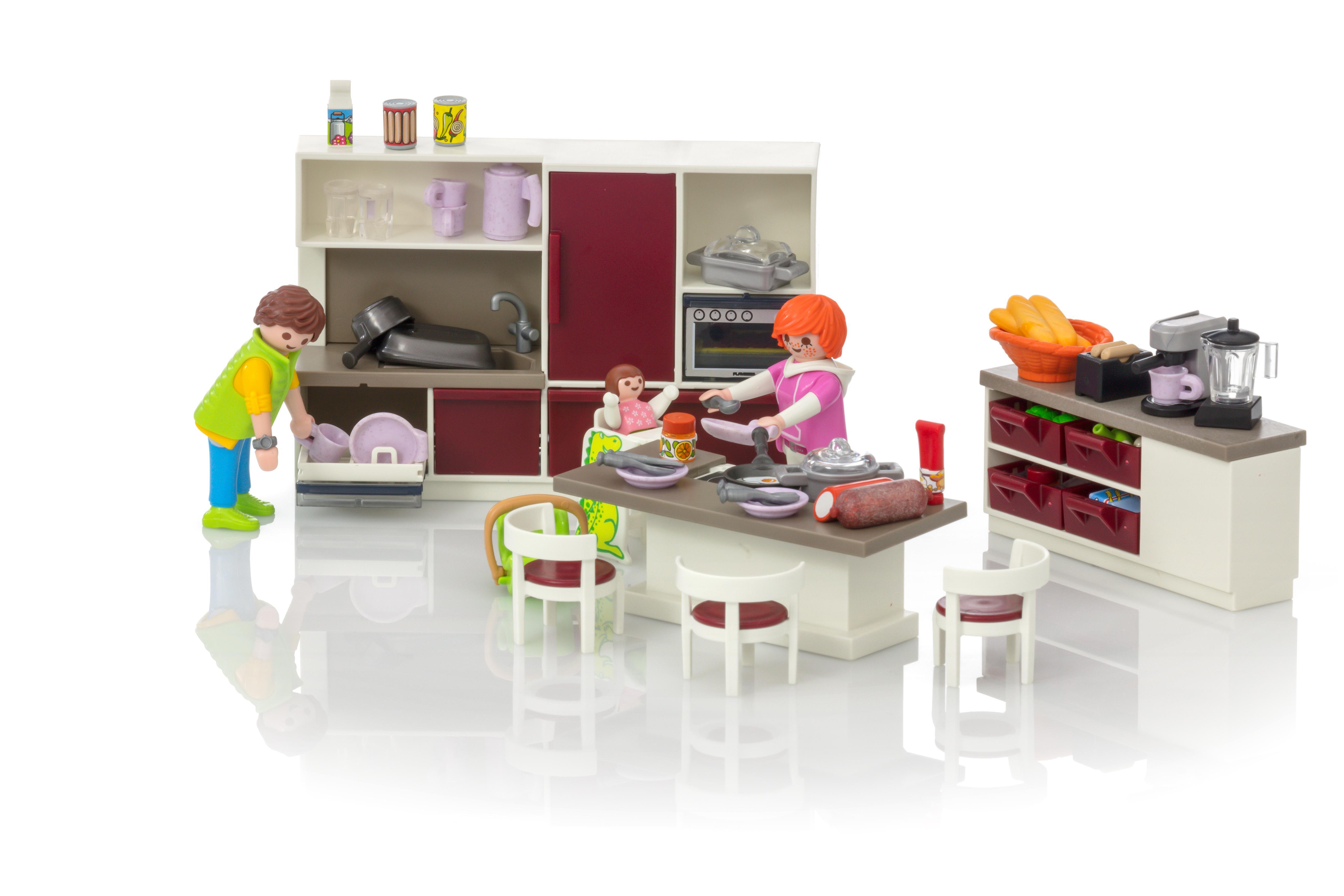 Playmobil Keuken 9269 : Leefkeuken playmobil nederland