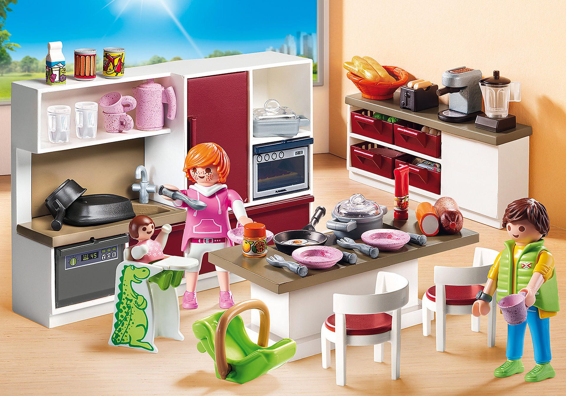 Accessoires Pour Cuisine Aménagée cuisine aménagée - 9269 - playmobil® france