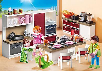 9269 Duża rodzinna kuchnia