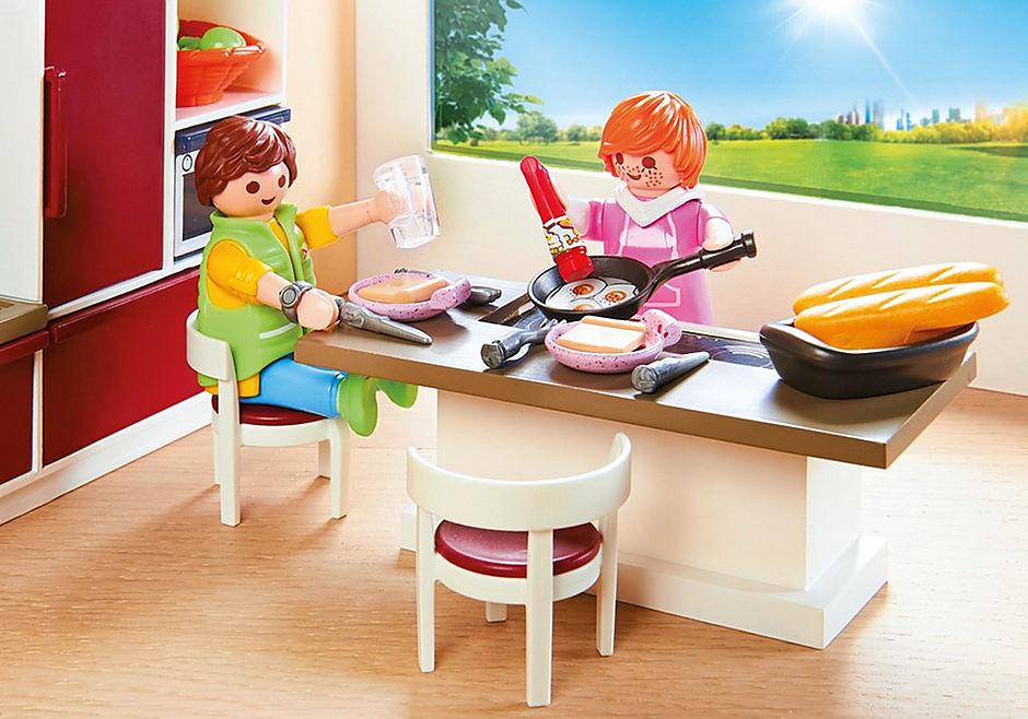 http://media.playmobil.com/i/playmobil/9269_product_extra1/Stort kök för hela familjen
