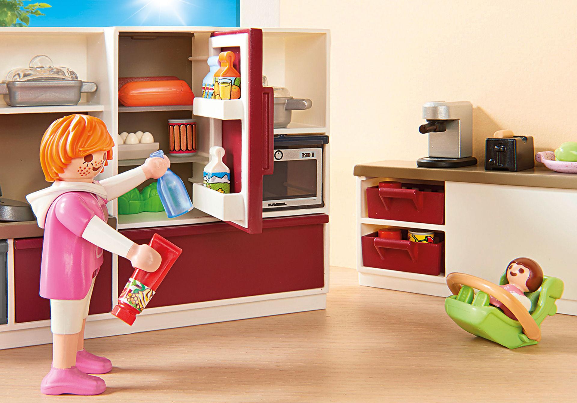 http://media.playmobil.com/i/playmobil/9269_product_extra3/Stort kök för hela familjen
