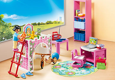 9270 Kinderkamer met hoogslaper