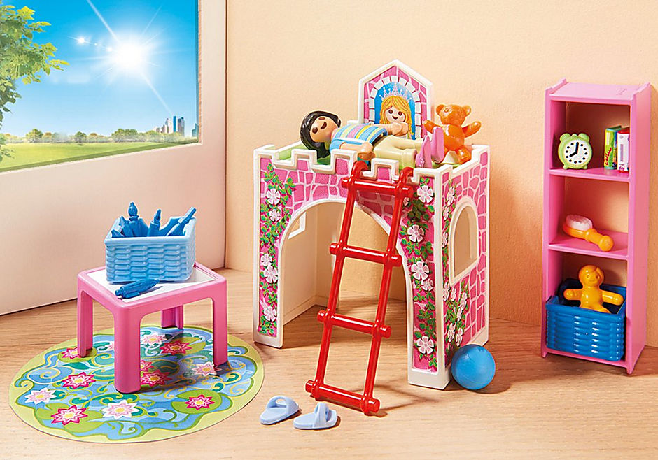 Fröhliches Kinderzimmer - 9270 - PLAYMOBIL® Deutschland