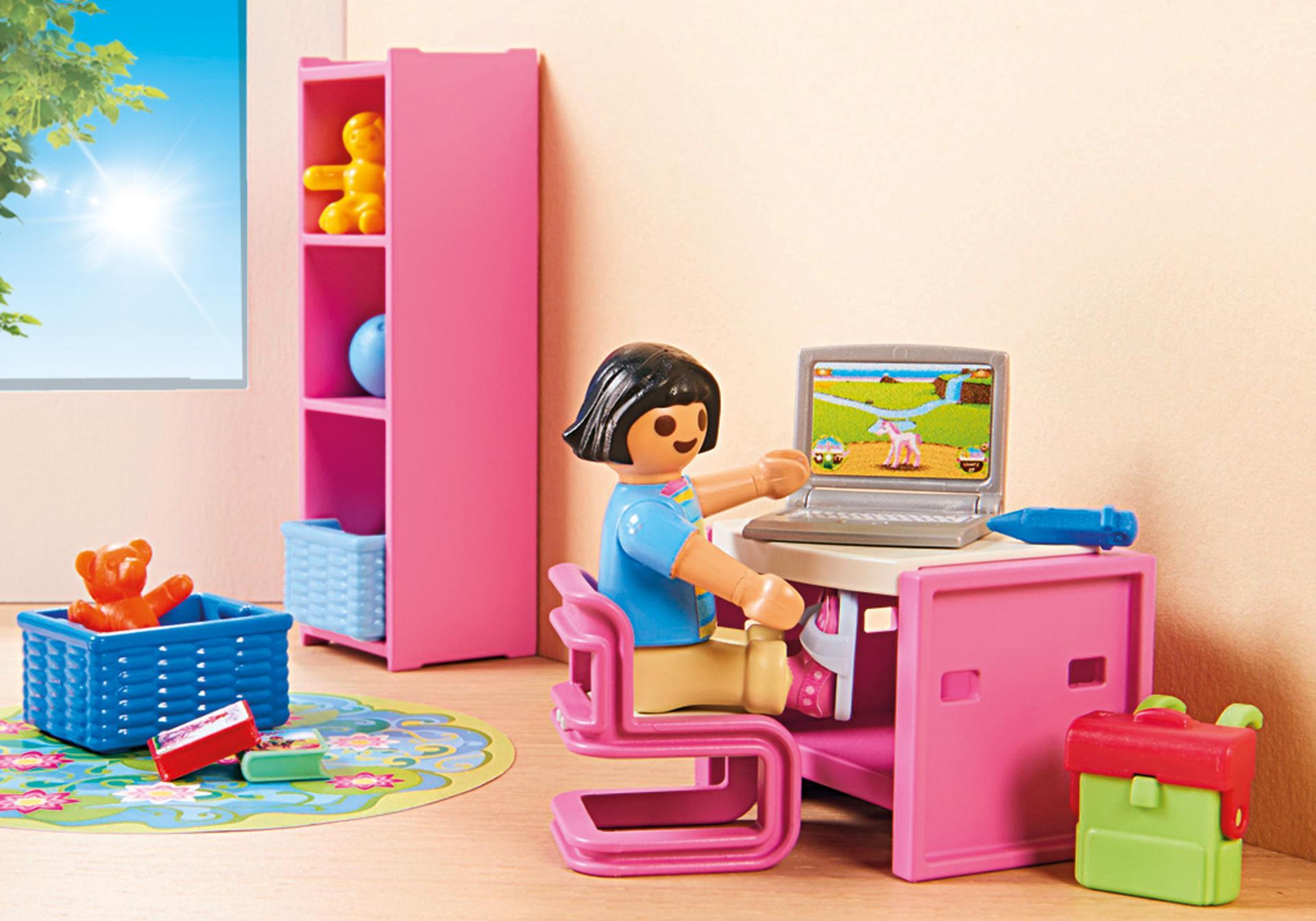 Kinderkamer met hoogslaper 9270 playmobil nederland for Kinderzimmer playmobil