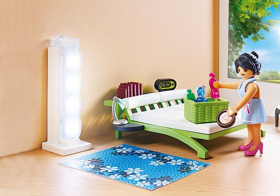 Slaapkamer met make-up tafel - 9271 - PLAYMOBIL® Nederland
