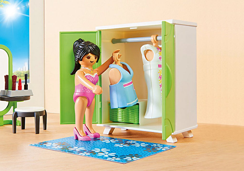 http://media.playmobil.com/i/playmobil/9271_product_extra2/Chambre avec espace maquillage