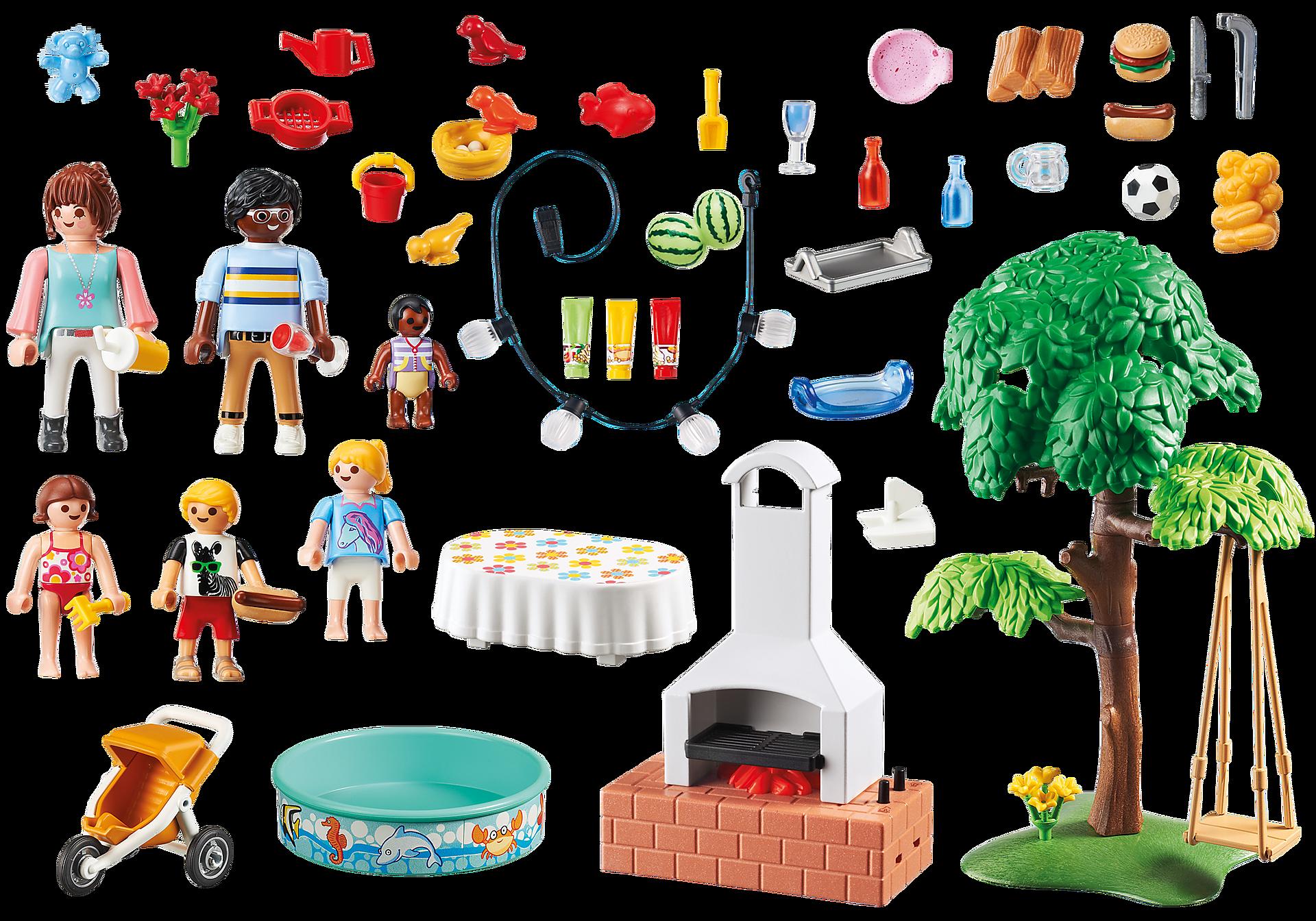 9272 Famille et barbecue estival zoom image5