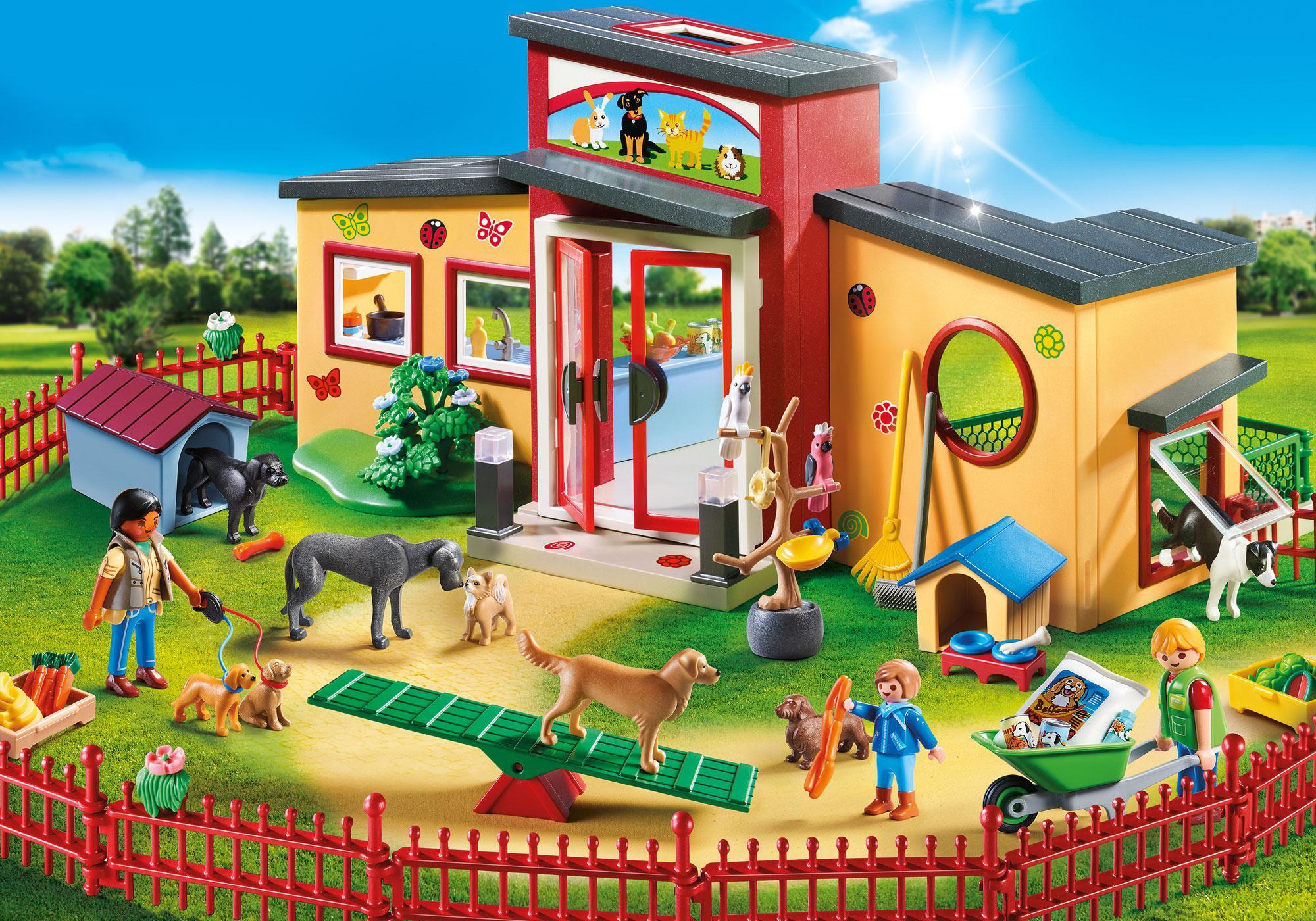 "http://media.playmobil.com/i/playmobil/9275_product_detail/Tierhotel ""Pfötchen"""
