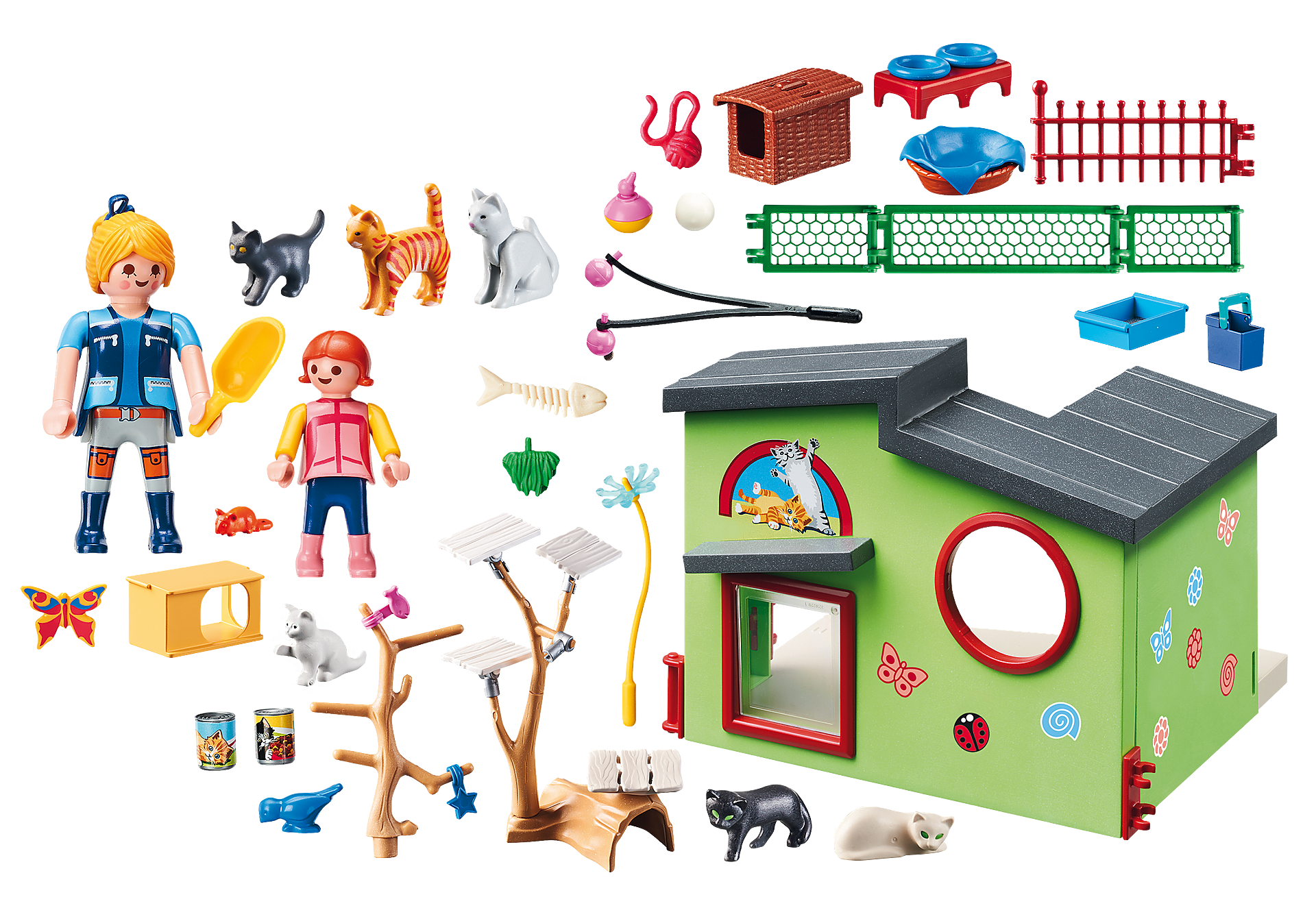 http://media.playmobil.com/i/playmobil/9276_product_box_back/Refugio para Gatos