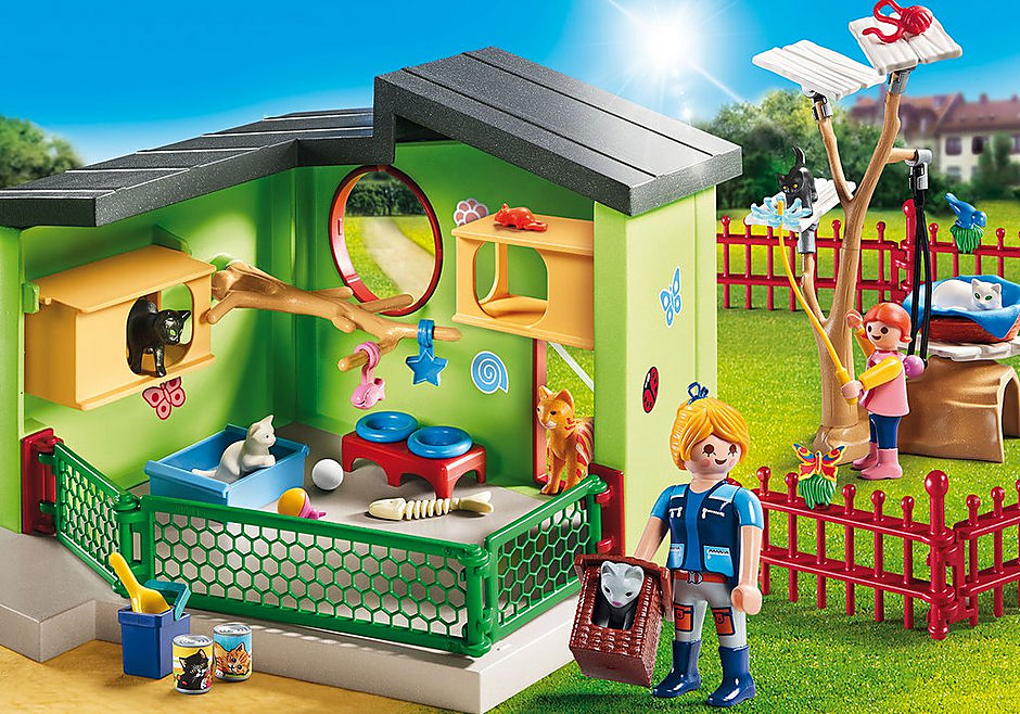 http://media.playmobil.com/i/playmobil/9276_product_detail/Purrfect Stay Cat Boarding