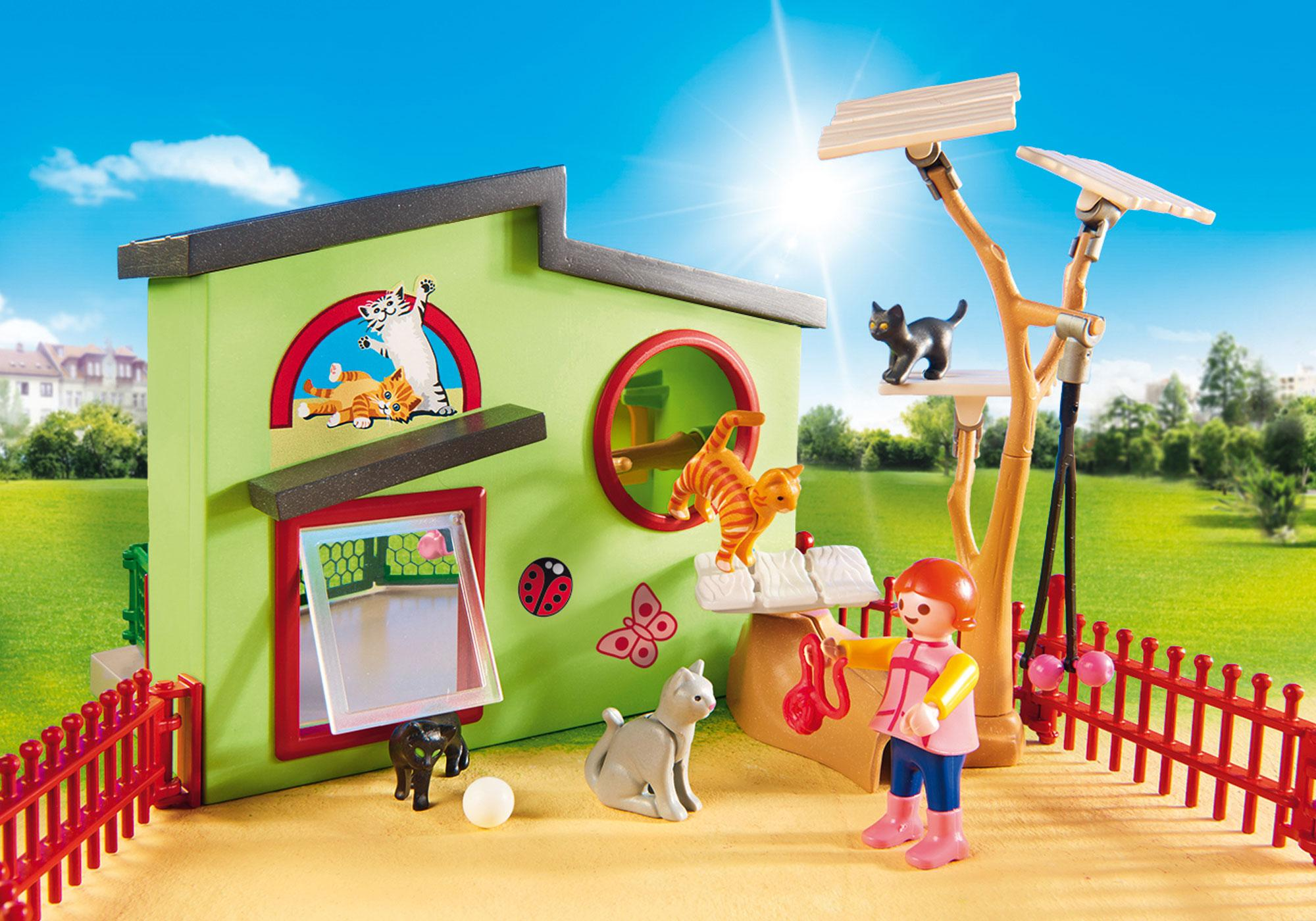 http://media.playmobil.com/i/playmobil/9276_product_extra2/Refugio para Gatos