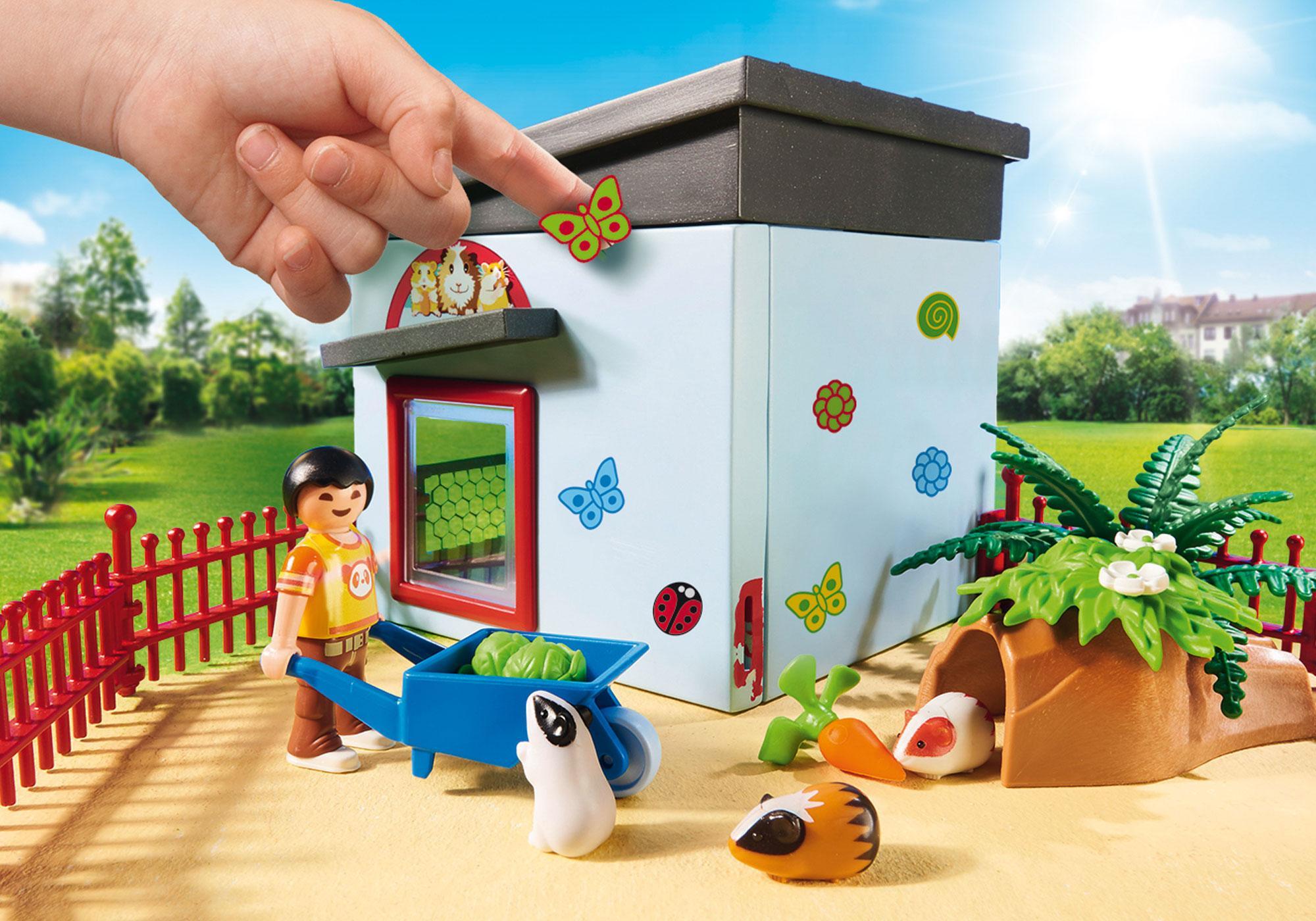 http://media.playmobil.com/i/playmobil/9277_product_extra2/Maisonnette des rongeurs et lapins