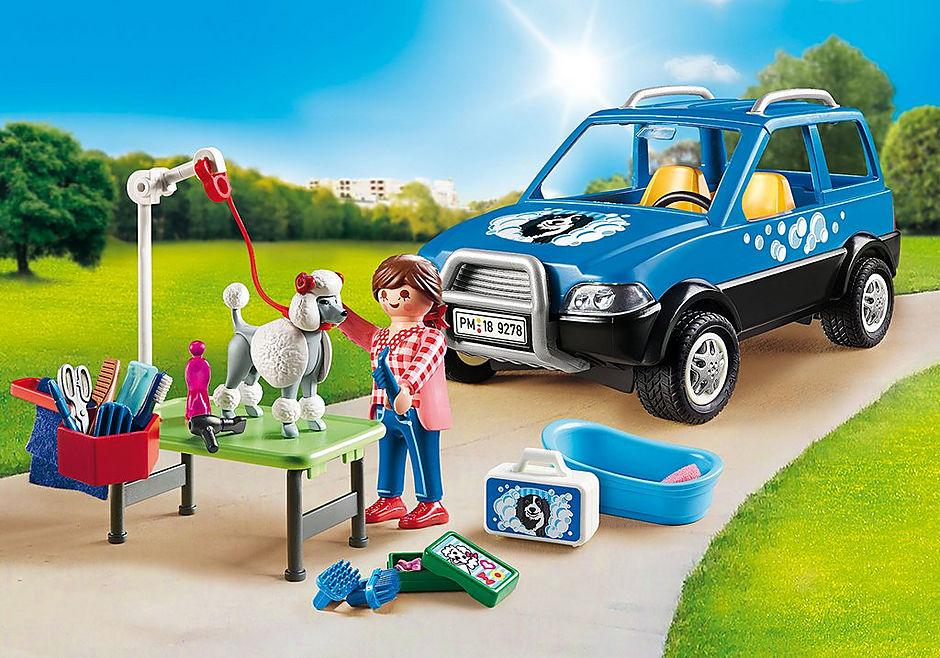 9278 Carro de lavagem para cães detail image 1
