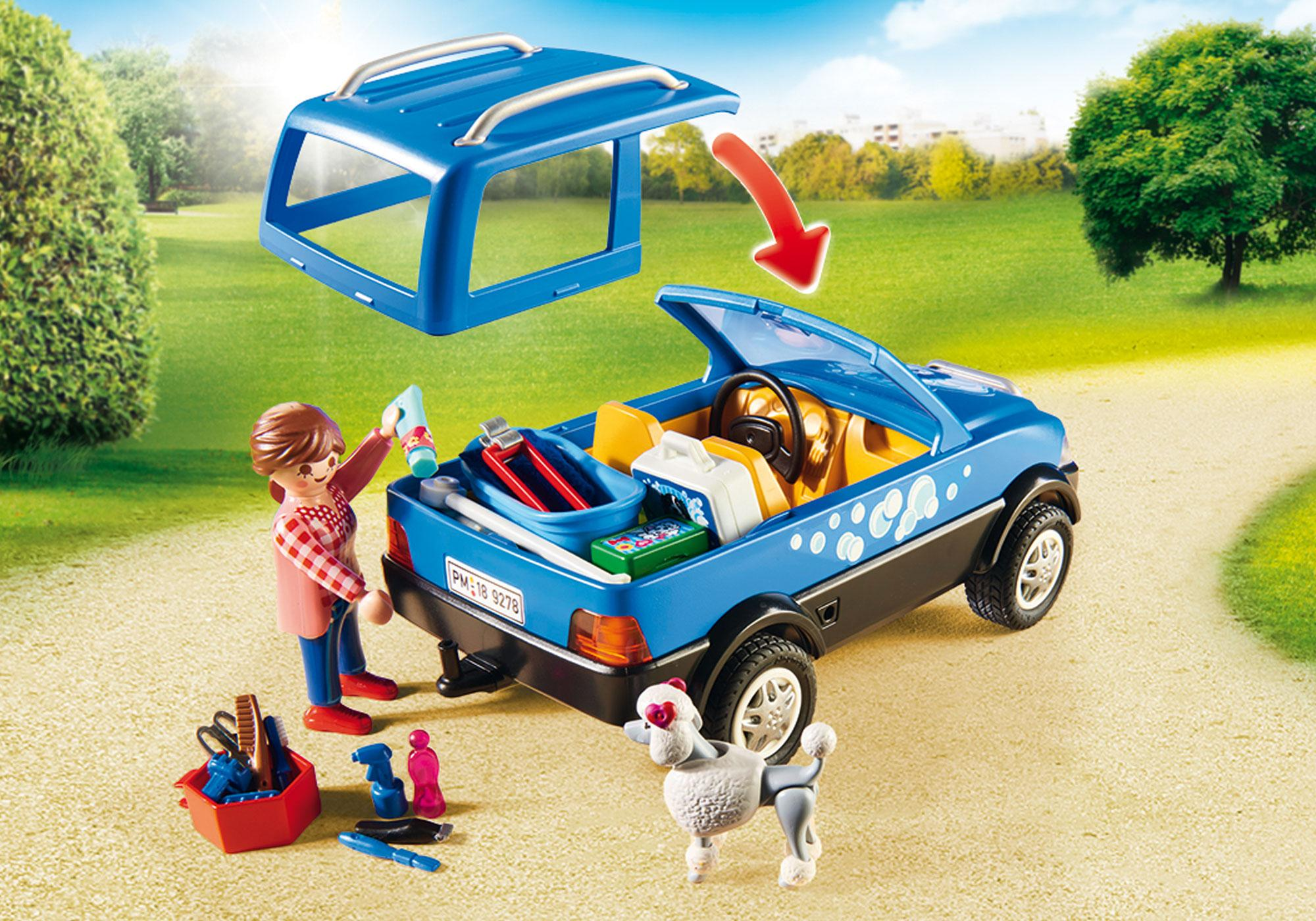 http://media.playmobil.com/i/playmobil/9278_product_extra1/Κινητή μονάδα κτηνιατρικής φροντίδας