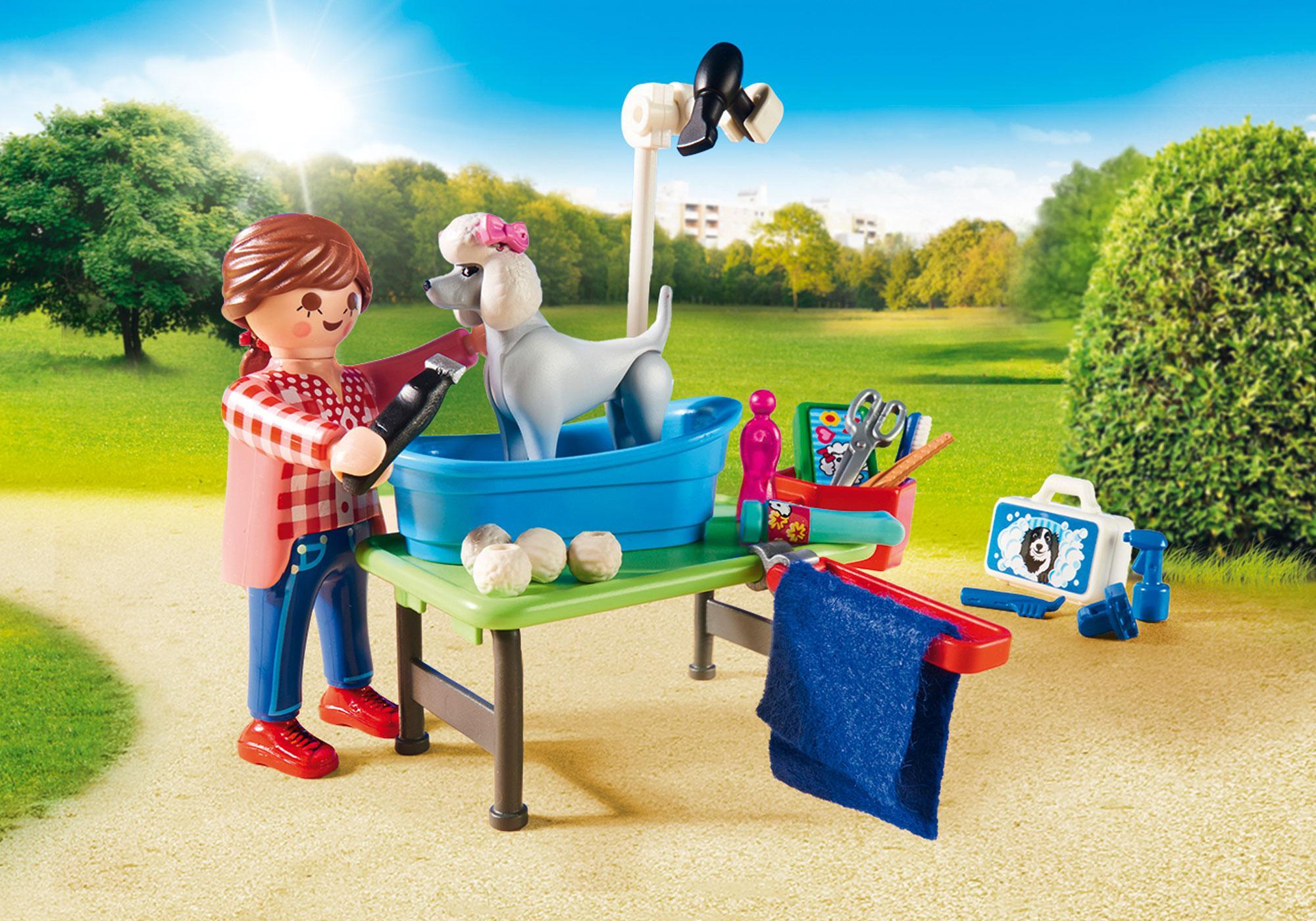 http://media.playmobil.com/i/playmobil/9278_product_extra2/Κινητή μονάδα κτηνιατρικής φροντίδας