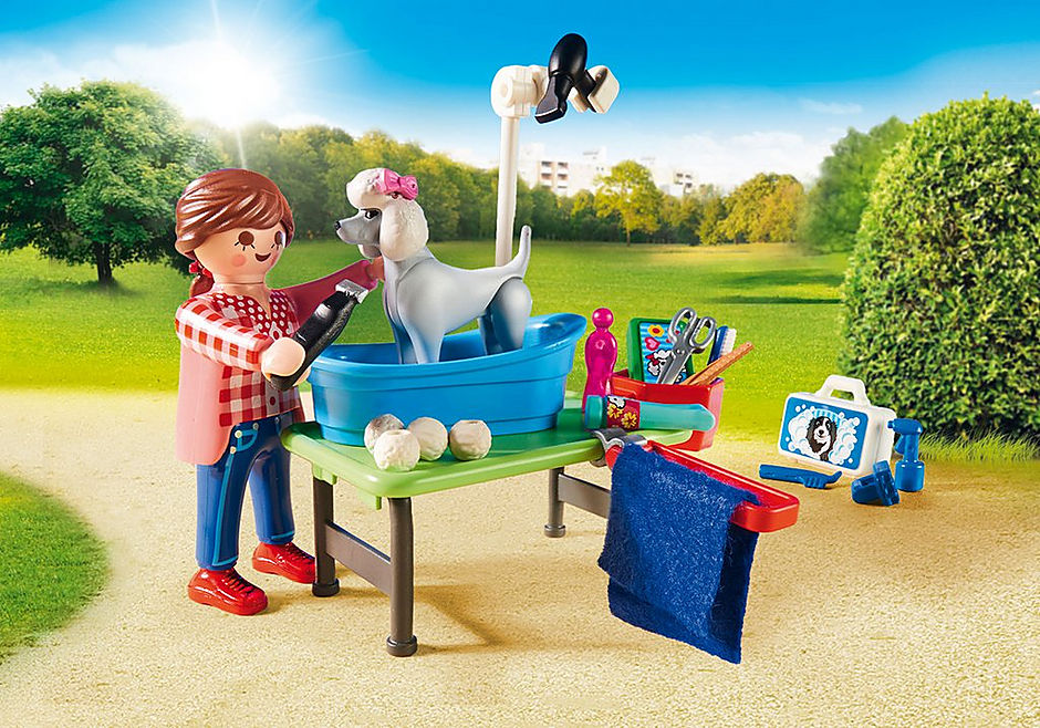 http://media.playmobil.com/i/playmobil/9278_product_extra2/Mobile Pet Groomer
