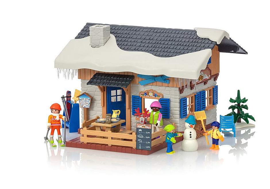 Chalet Avec Playmobil® Skieurs Suisse 9280 rBeCdox