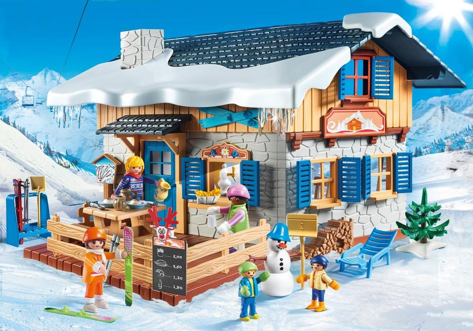 ski lodge - Playmobil Ski