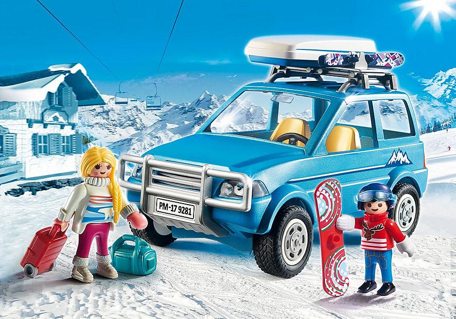 9281 Auto mit Dachbox detail image 1