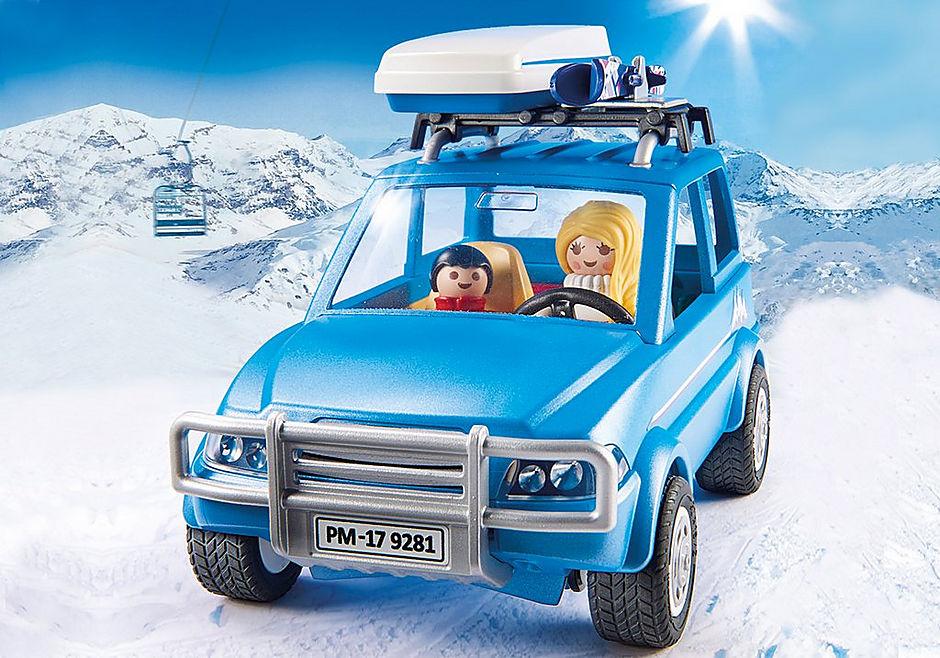 9281 Auto mit Dachbox detail image 6