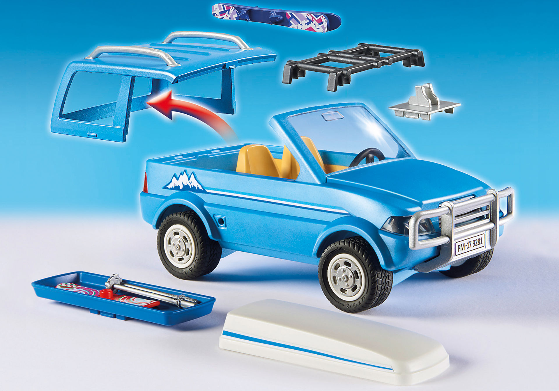 http://media.playmobil.com/i/playmobil/9281_product_extra3/Όχημα 4x4 με μπαγκαζιέρα