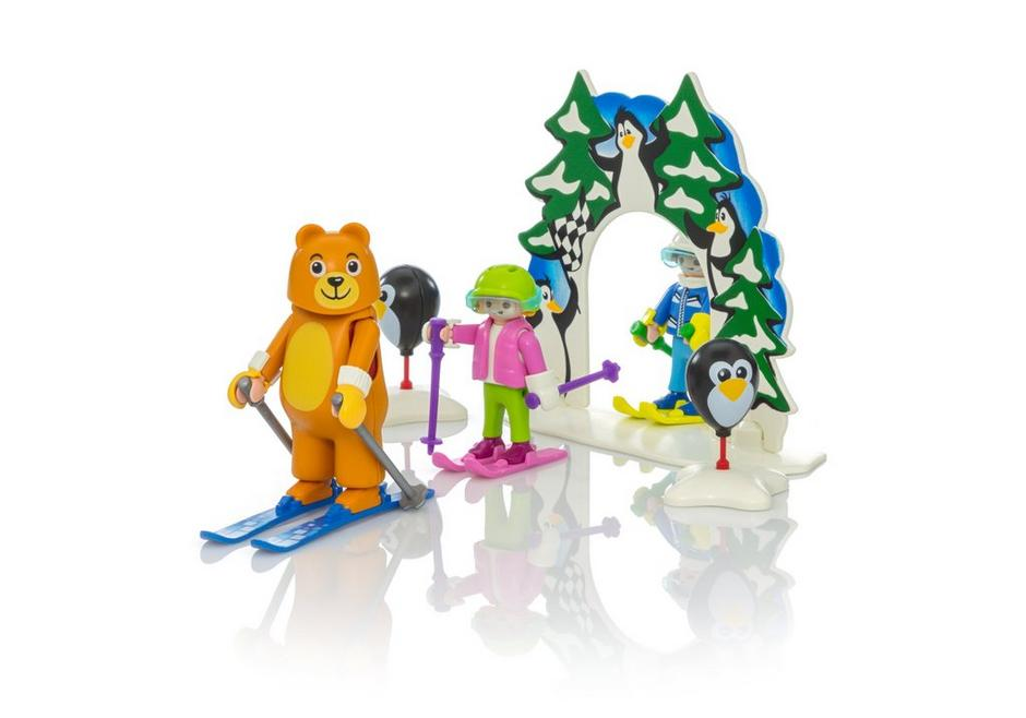 tab to activate the 360 view - Playmobil Ski
