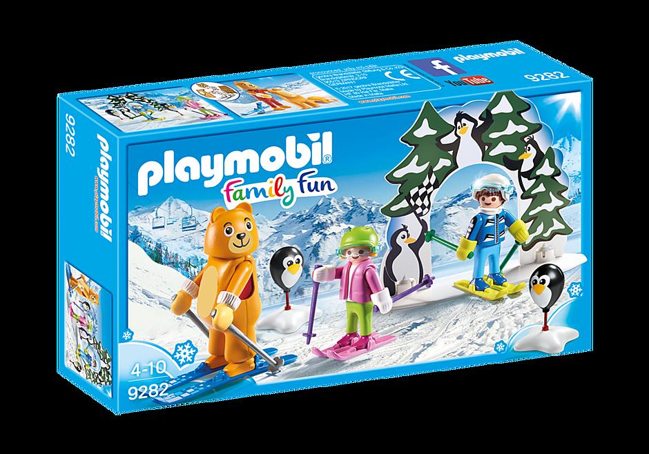 9282 Moniteur de ski avec enfants  detail image 3